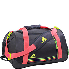 Squad Duffel - Women's Mercury Grey/Red Zest