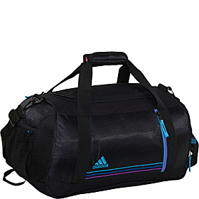 Squad Duffel - Women's Black/Super Cyan