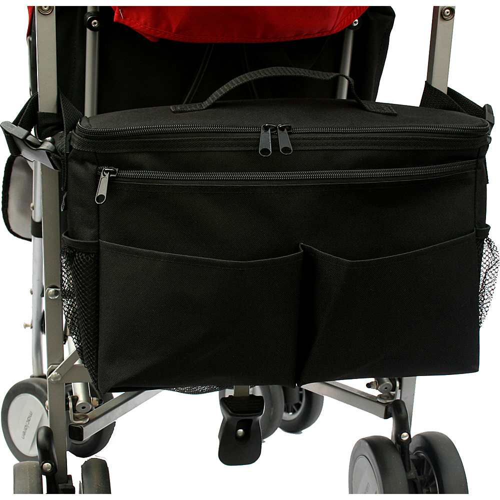 J.L. Childress Cool N Cargo Stroller Cooler - Black - Travel Accessories, Travel Coolers