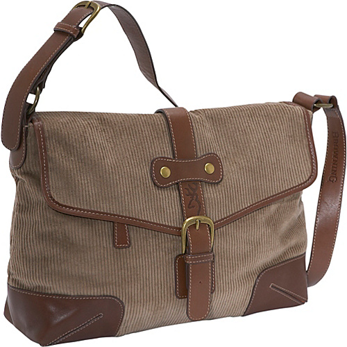 AmeriBag Browning Corduroy Messenger - Cross Body