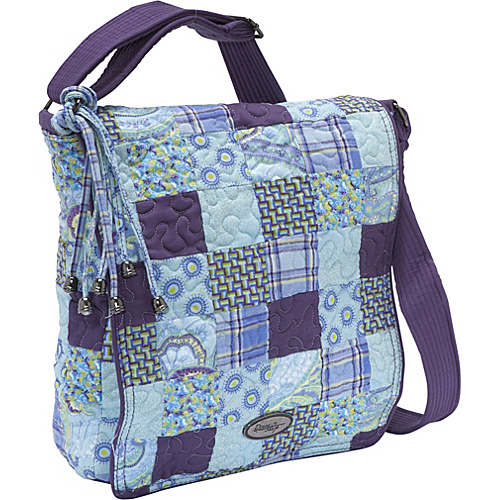 Donna Sharp Messenger Bag, Rio Patch - Cross Body