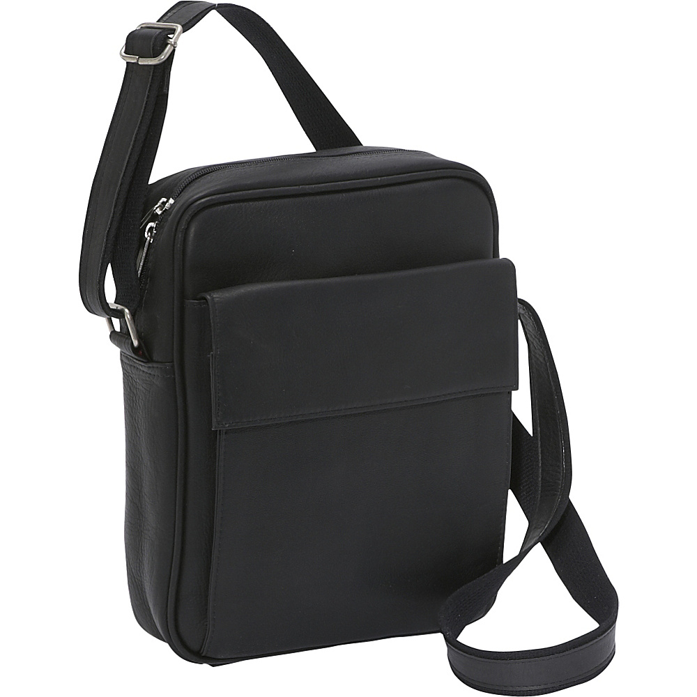 Le Donne Leather iPad / eReader Carry All Bag - Black - Work Bags & Briefcases, Other Men's Bags