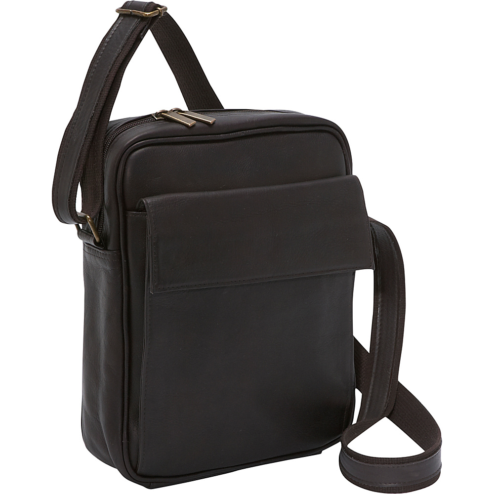 Le Donne Leather iPad / eReader Carry All Bag - Caf - Work Bags & Briefcases, Other Men's Bags