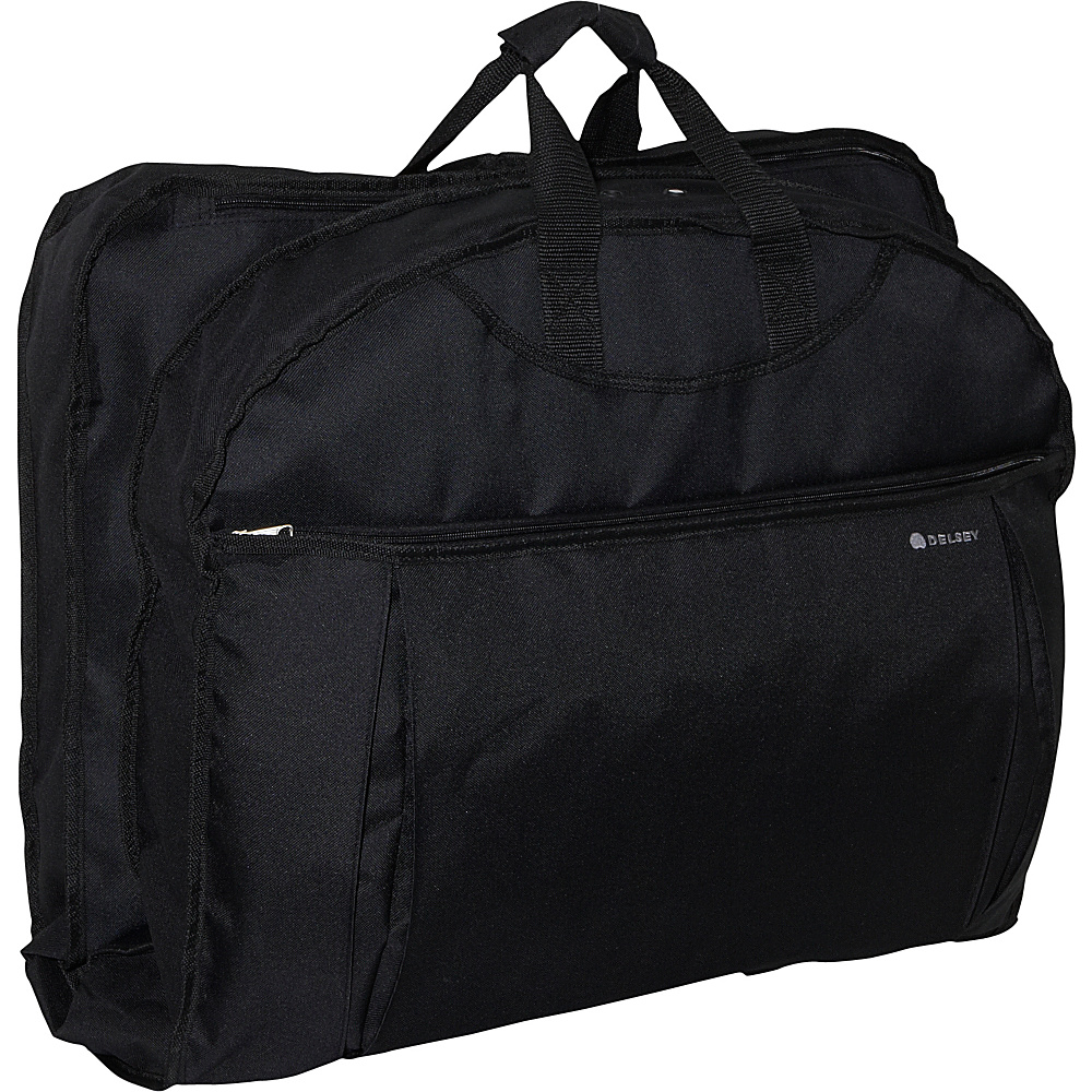 Delsey Helium 45 Mid-Length Cover Black - Delsey Garment Bags - Luggage, Garment Bags