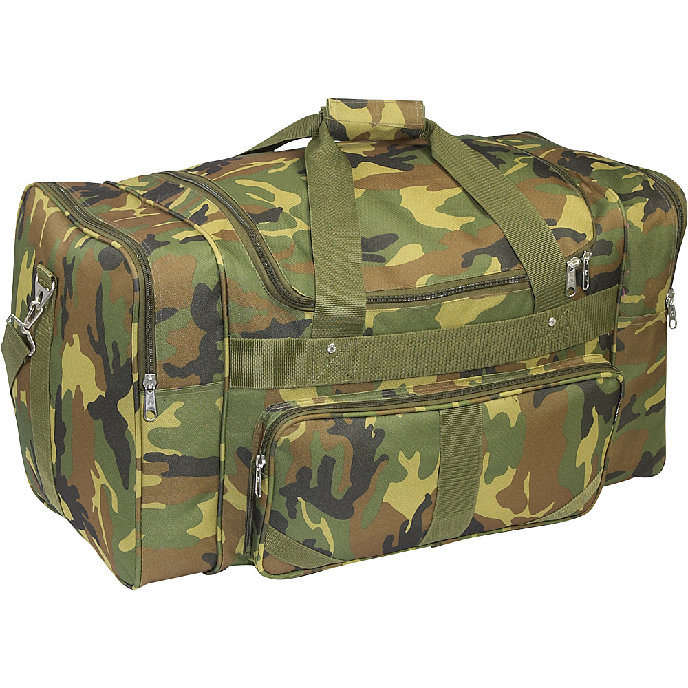 Everest Jungle Camo 27 Duffel Bag - Jungle Camo - Duffels, Travel Duffels
