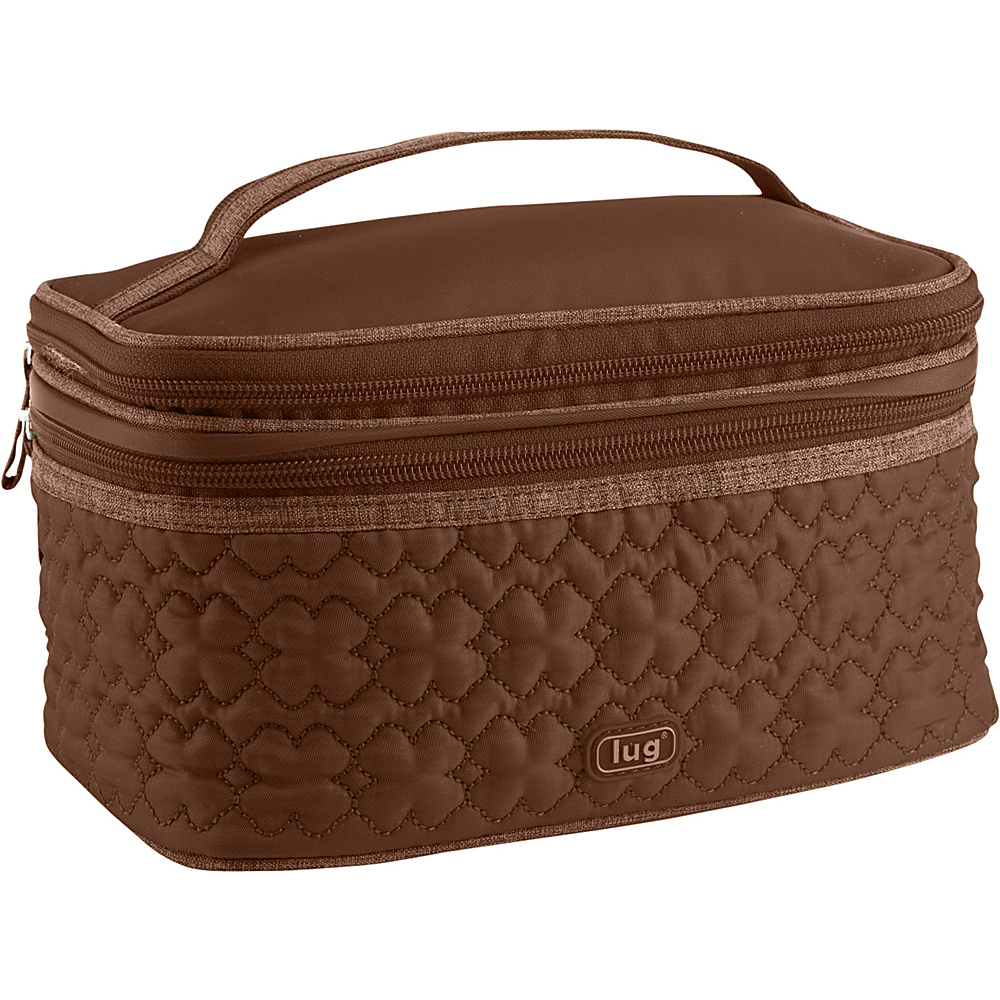 Lug Life Two Step Cosmetic Case Chocolate
