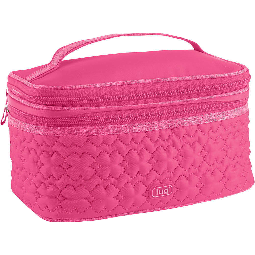 Lug Life Two Step Cosmetic Case Rose