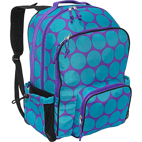Wildkin Big Dots Aqua Macropak - Big Dots Aqua
