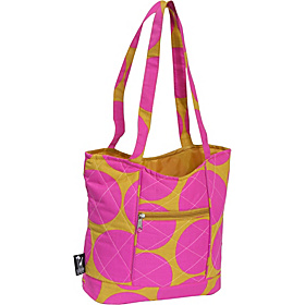Big Dots Hot Pink Quilted Tote Big Dots Hot Pink