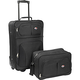 Fieldbrook 2 Piece Luggage Set Black