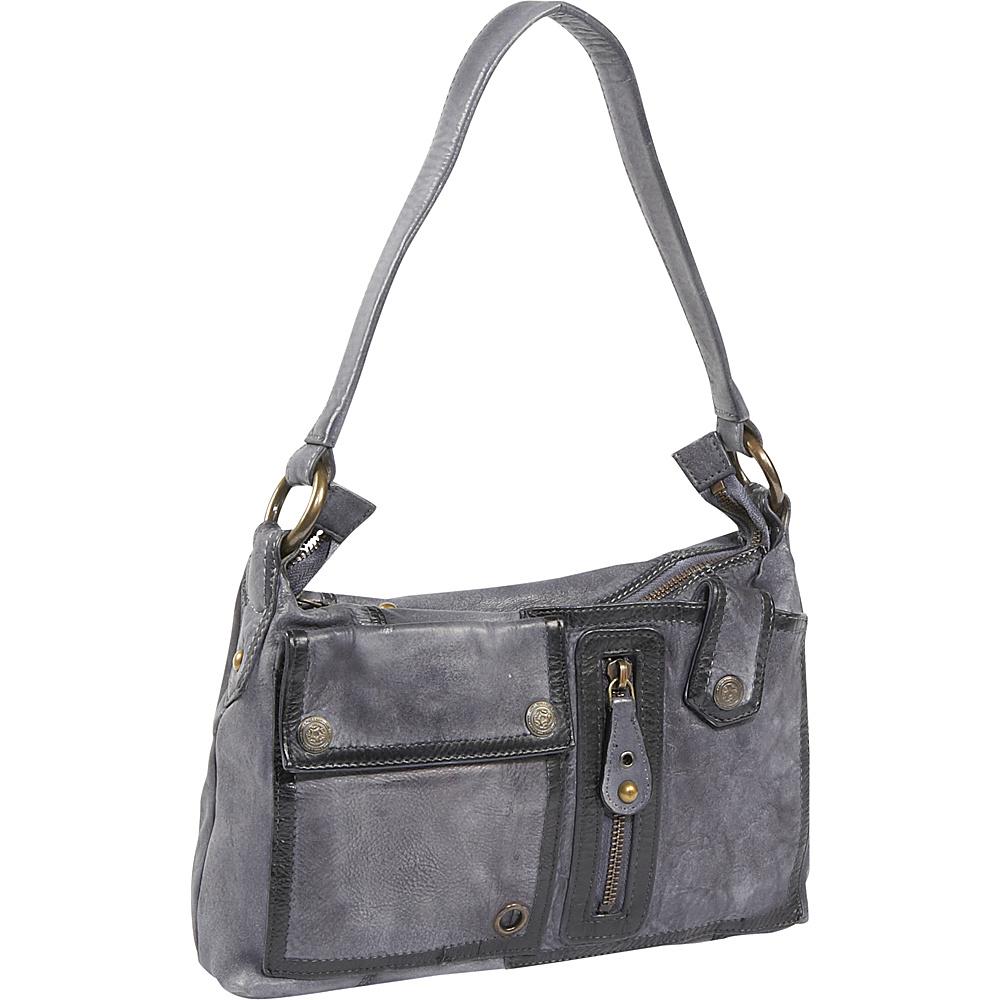 Latico Leathers Jordan - Grey - Handbags, Leather Handbags