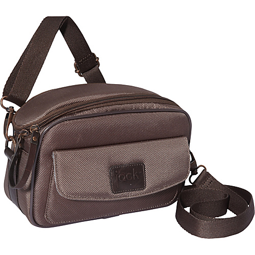 Jill-E Jack Compact System Camera Bag Chocolate Brown - Jill-E Camera Cases