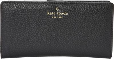 kate spade new york Cobble Hill Stacy Continental Wallet Black - kate spade new york Women's Wallets