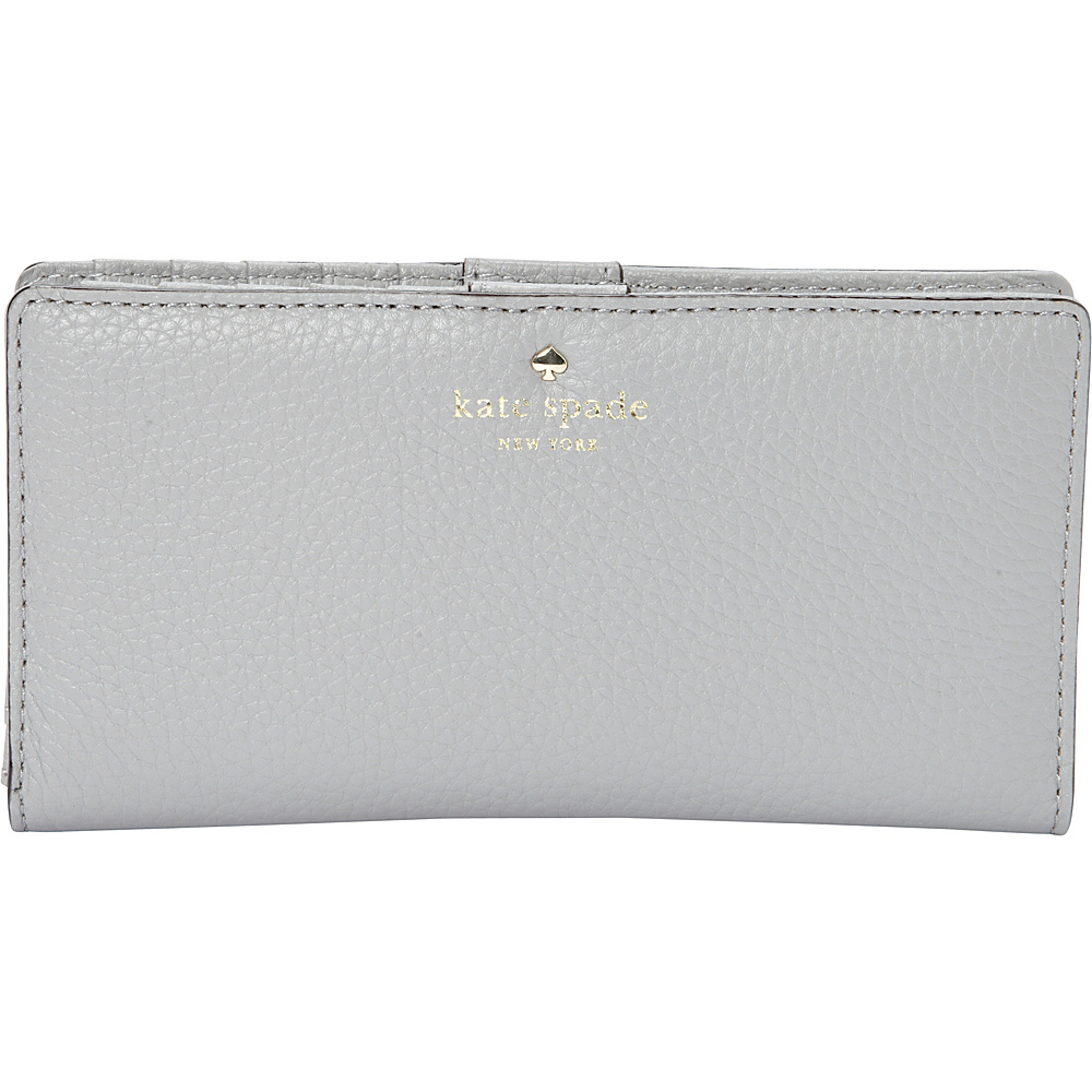 kate spade new york Cobble Hill Stacy Continental Wallet City Fog kate spade new york Women s Wallets