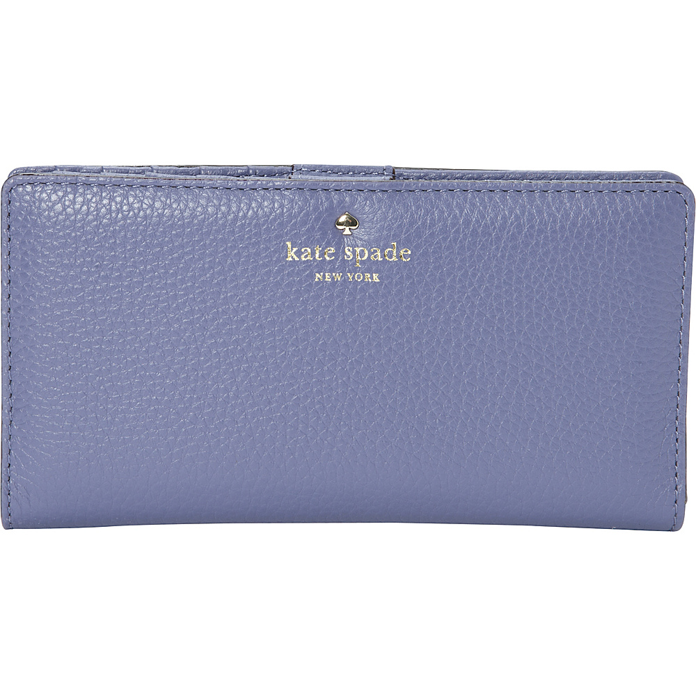 kate spade new york Cobble Hill Stacy Continental Wallet Oyster Blue kate spade new york Women s Wallets