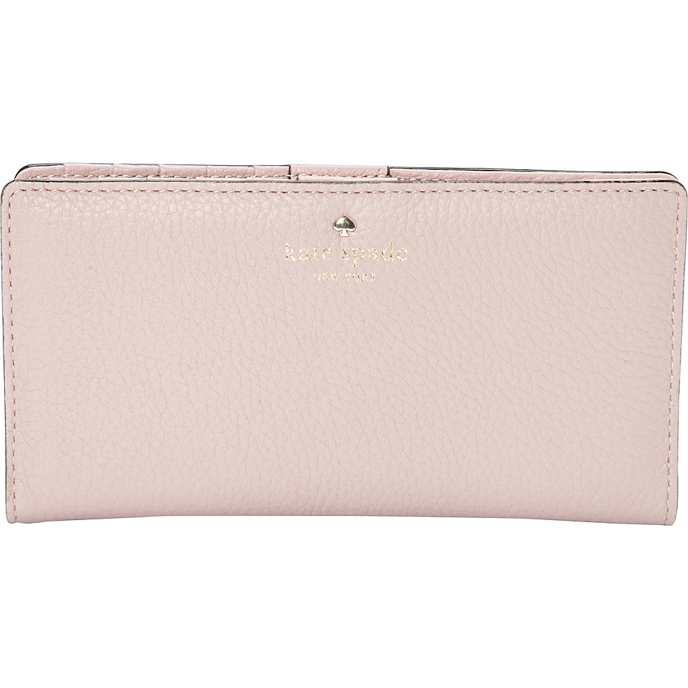 kate spade new york Cobble Hill Stacy Continental Wallet Pink Granite kate spade new york Women s Wallets