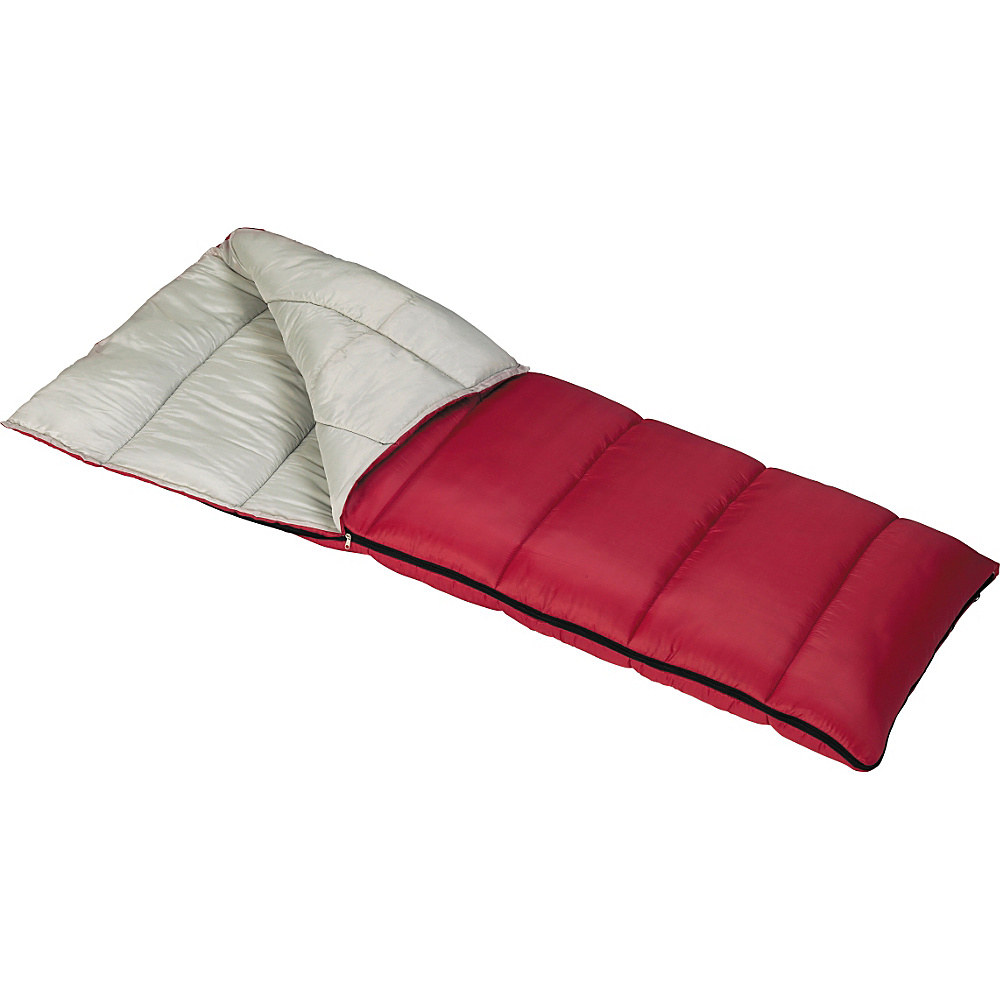 Mountain Trails Lindenwood-3 lb. Sleeping Bag - Red