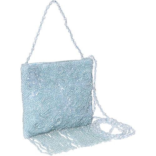 Moyna Handbags Beaded Mini Cross Body with Fringe - Cross Body