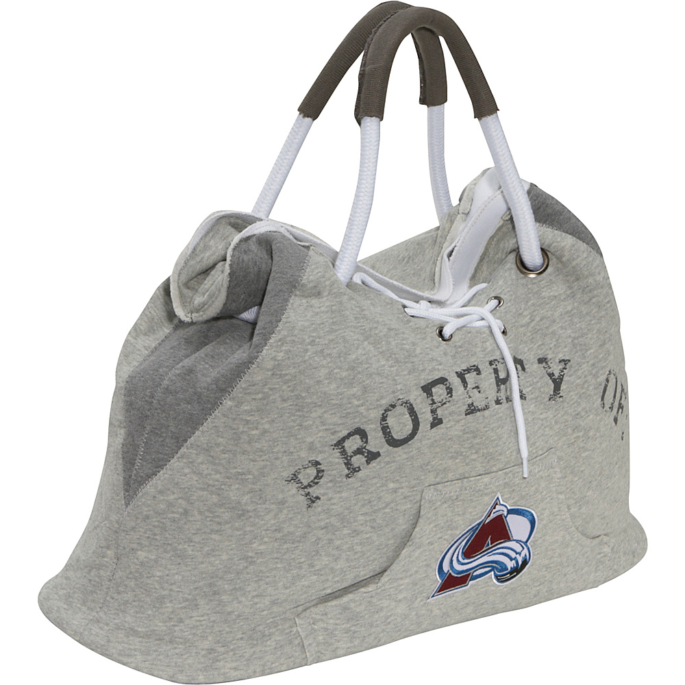 Littlearth NHL Hoodie Tote Grey/Colorado Avalanche Colorado Avalanche - Littlearth Fabric Handbags - Handbags, Fabric Handbags