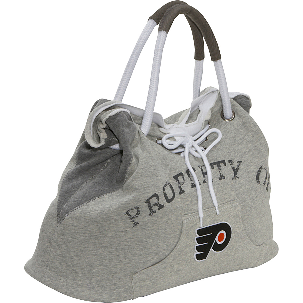 Littlearth NHL Hoodie Tote Grey/Philadelphia Flyers Philadelphia Flyers - Littlearth Fabric Handbags - Handbags, Fabric Handbags