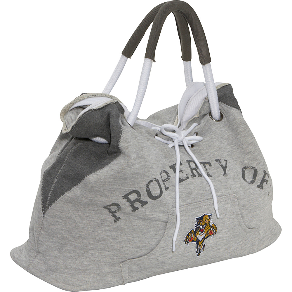 Littlearth NHL Hoodie Tote Grey/Florida Panthers Florida Panthers - Littlearth Fabric Handbags - Handbags, Fabric Handbags