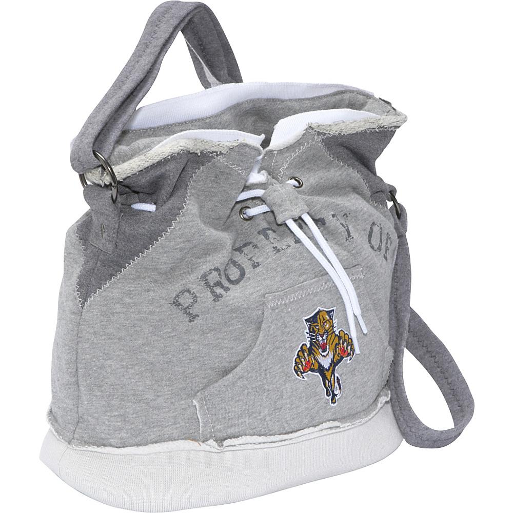 Littlearth NHL Hoodie Duffel Grey/Florida Panthers Florida Panthers - Littlearth Fabric Handbags