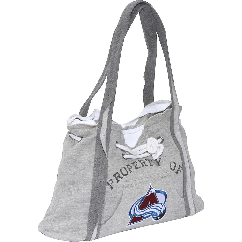Littlearth NHL Hoodie Purse Grey/Colorado Avalanche Colorado Avalanche - Littlearth Fabric Handbags - Handbags, Fabric Handbags