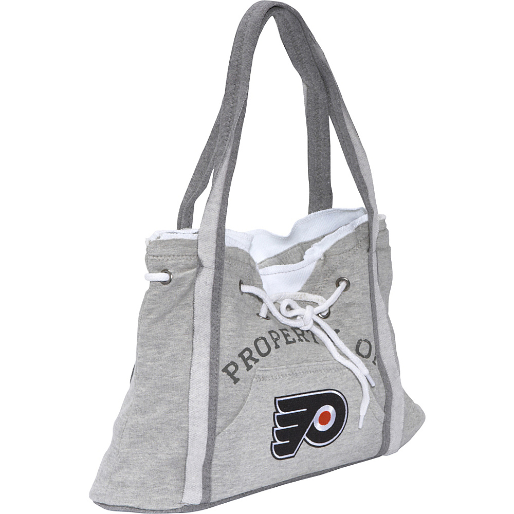 Littlearth NHL Hoodie Purse Grey/Philadelphia Flyers Philadelphia Flyers - Littlearth Fabric Handbags - Handbags, Fabric Handbags