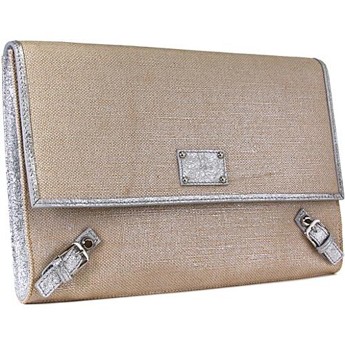 Lodis Bora Bora Edith Clutch - Bora Bora Silver