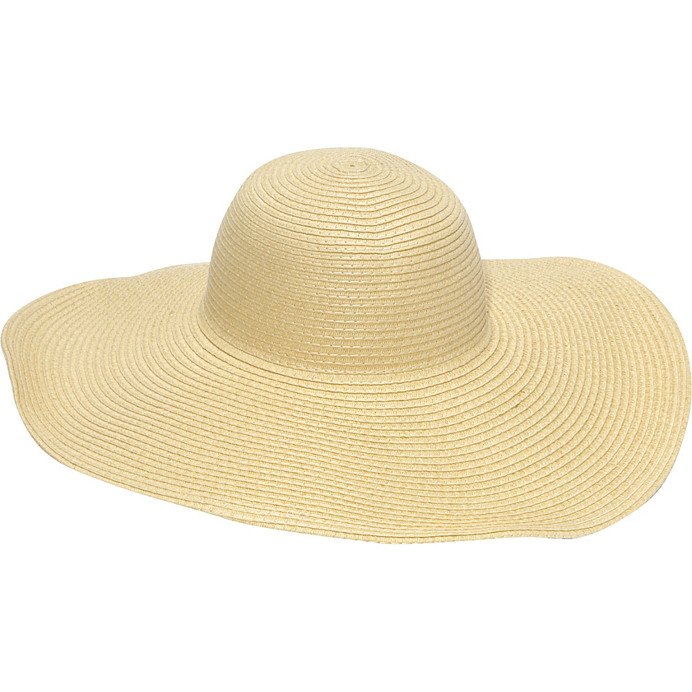 Magid Straw Floppy Sun Hat Natural