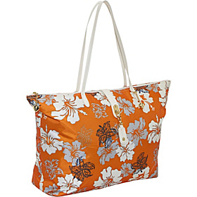 Love Sac Weekender - Hawaiian Print Orange Hawaiian Print