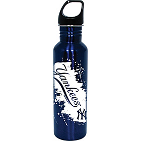 New York Yankees Water Bottle Blue