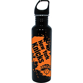 New York  Knicks Water Bottle Black