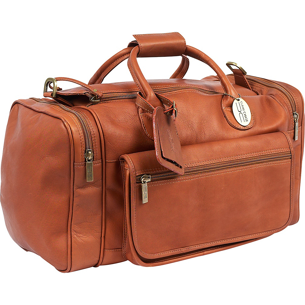 ClaireChase Classic Sports Valise - Saddle - Duffels, Travel Duffels