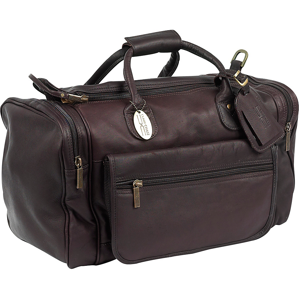 ClaireChase Classic Sports Valise - Cafe - Duffels, Travel Duffels