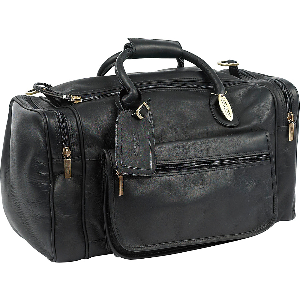 ClaireChase Classic Sports Valise - Black - Duffels, Travel Duffels