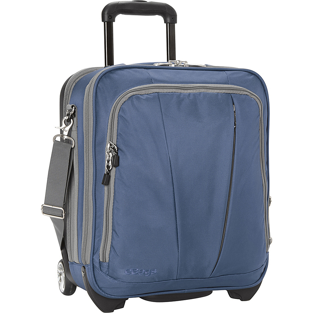 eBags TLS Vertical Mobile Office Blue Yonder- Discontinued - eBags Wheeled Business Cases - Work Bags & Briefcases, Wheeled Business Cases