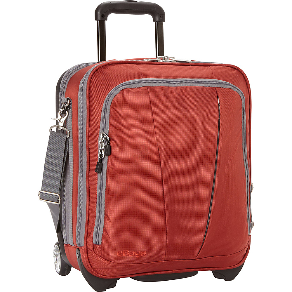 eBags TLS Vertical Mobile Office Sinful Red - eBags Wheeled Business Cases - Work Bags & Briefcases, Wheeled Business Cases