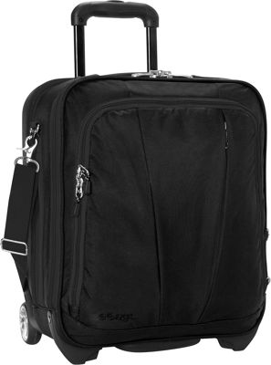 eBags TLS Vertical Mobile Office Solid Black - eBags Wheeled Business Cases