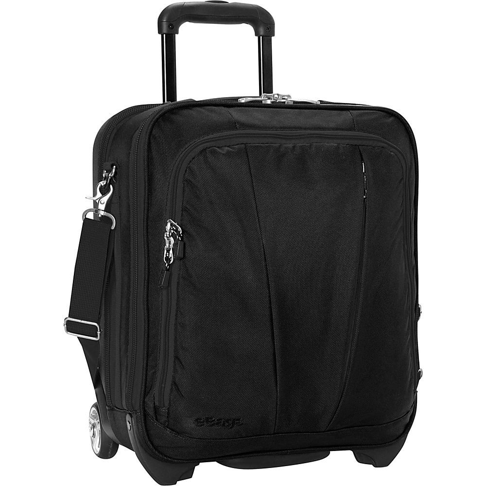 eBags TLS Vertical Mobile Office Solid Black - eBags Wheeled Business Cases - Work Bags & Briefcases, Wheeled Business Cases
