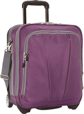 eBags TLS Vertical Mobile Office Eggplant - eBags Wheeled Business Cases