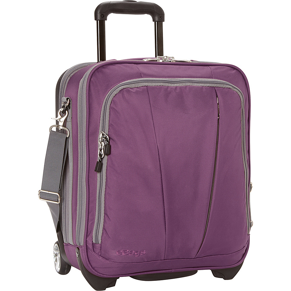 eBags TLS Vertical Mobile Office Eggplant - eBags Wheeled Business Cases - Work Bags & Briefcases, Wheeled Business Cases