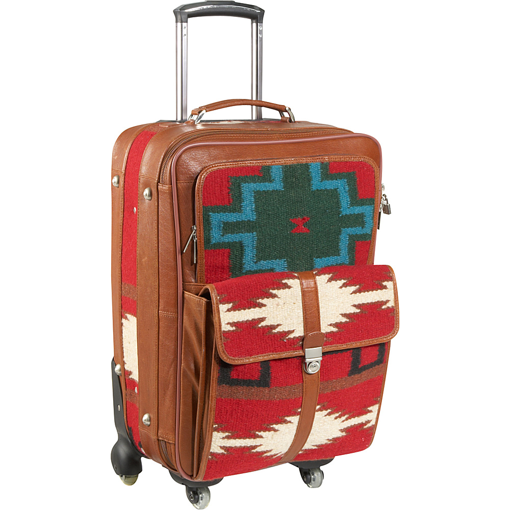 AmeriLeather Roamer 23 Upright Red - AmeriLeather Softside Checked - Luggage, Softside Checked