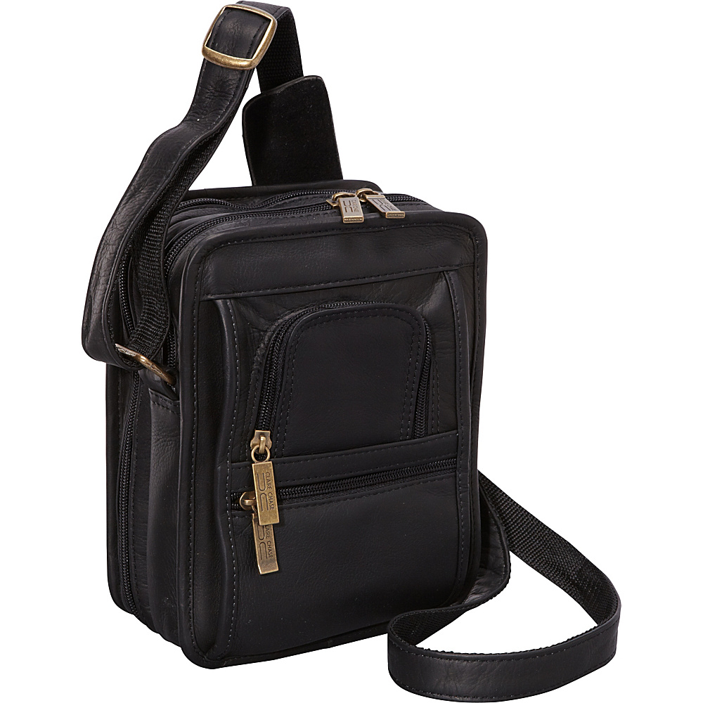ClaireChase Ultimate Man Bag - Black - Work Bags & Briefcases, Other Men's Bags