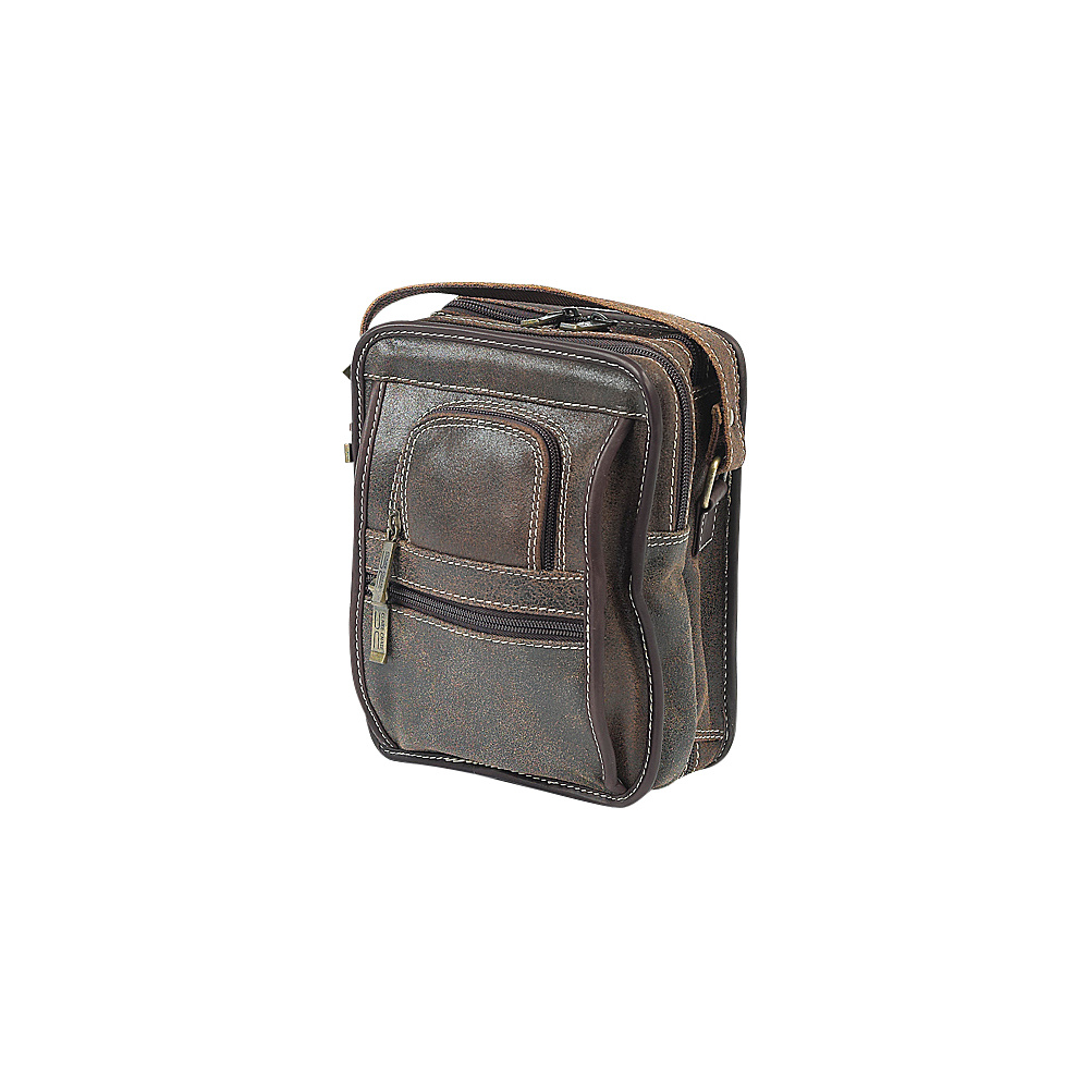 ClaireChase Ultimate Man Bag - Distressed Brown - Work Bags & Briefcases, Other Men's Bags