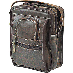 Ultimate Man Bag Distressed Brown