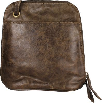 Latico Leathers Lilly Crunch Olive - Latico Leathers Leather Handbags