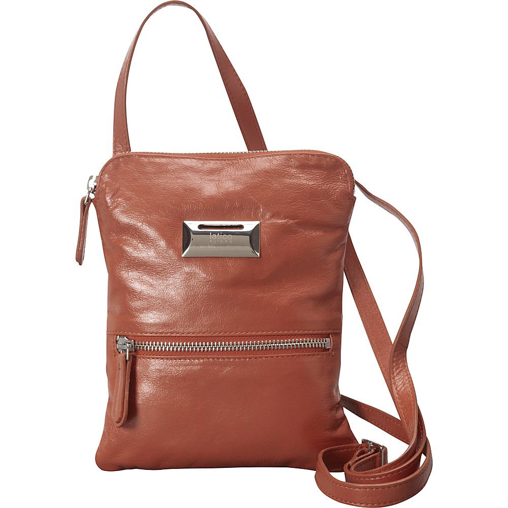 Latico Leathers Dora Crossbody Cognac - Latico Leathers Leather Handbags - Handbags, Leather Handbags