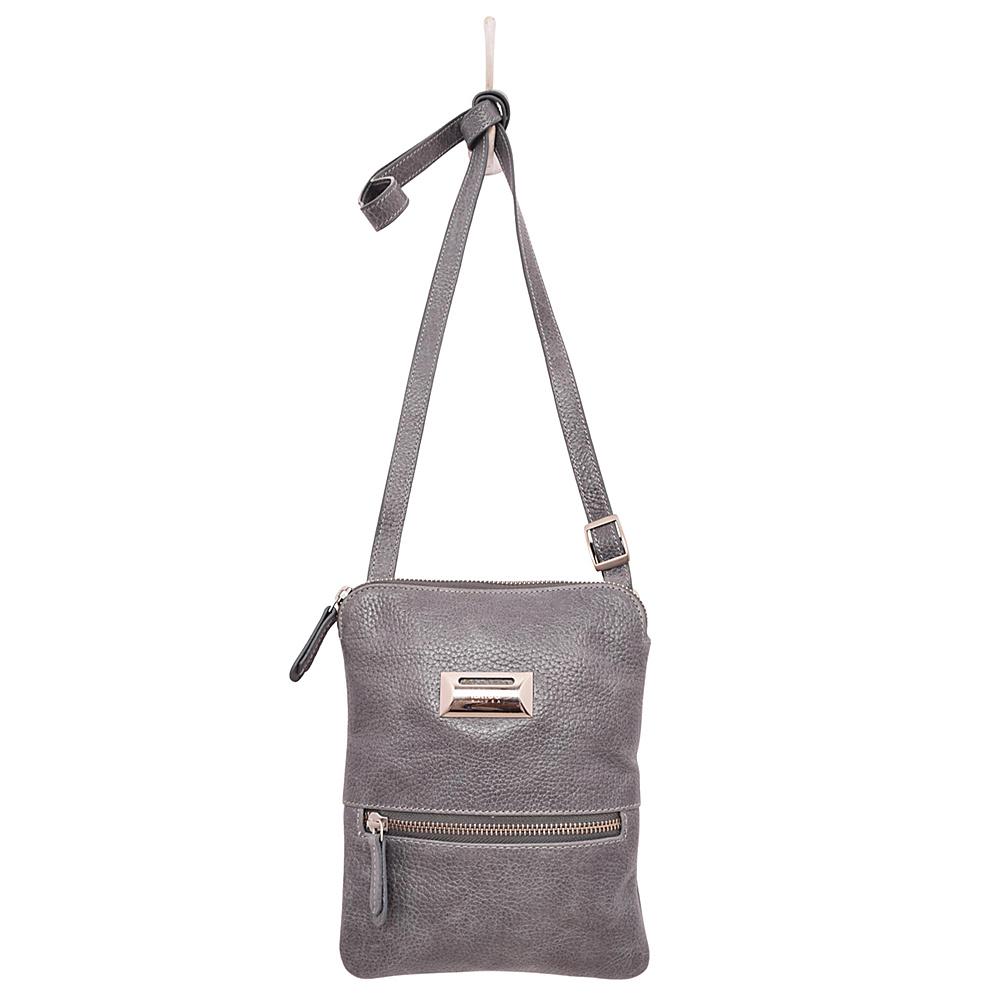 Latico Leathers Dora Crossbody Pebble Denim - Latico Leathers Leather Handbags - Handbags, Leather Handbags