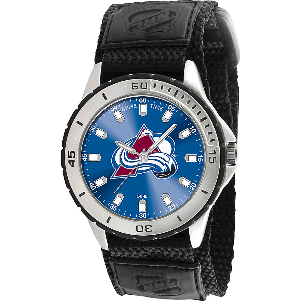 Game Time Veteran NHL Colorado Avalanche Black